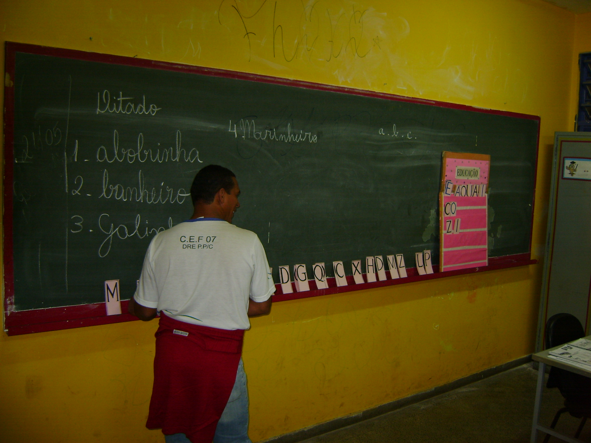 Fotos de EJA no CEF07 Asa Norte (2008)