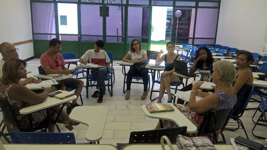 Reunião do Fórum EJA dia 27/02/2016