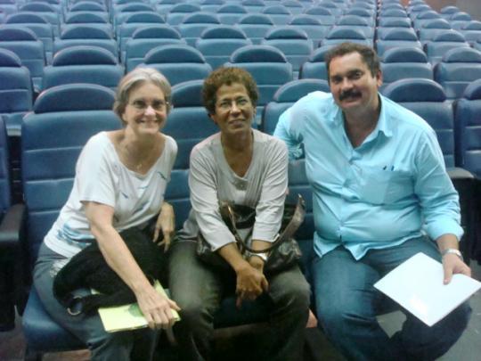 PROFª MARIA LUIZA ANGELIM(UNB),PROFª EDNA CASTRO(UFES),PROFº DANTE HENRIQUE MOURA(CEFET-RN) NO II SEMINÁRIO PROEJA