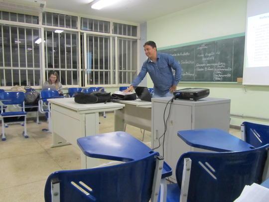 Professor formador Rafael Araújo