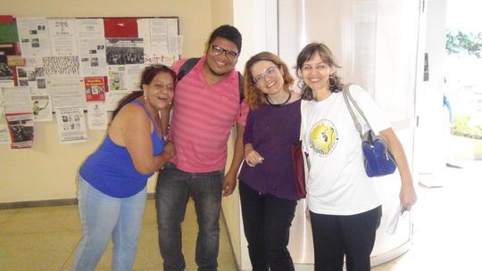 Eanes, Márcia (MT), Jeferson (MT) e Cláudia