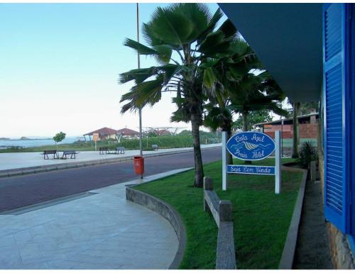 Vista da orla do Costa Azul